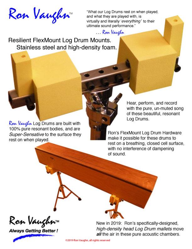 0.2019.RonVaughn.Log.Drum.FlexMount.page.2019